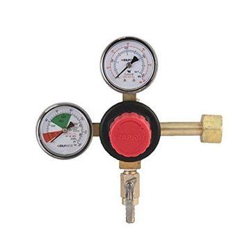 TapRite Primary Double Gauge CO2 Beer Regulator w/ Knob