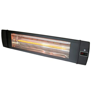 Versonel Wall or Ceiling Mount Carbon Infrared Indoor Outdoor Heater with Remote VSLWMH200