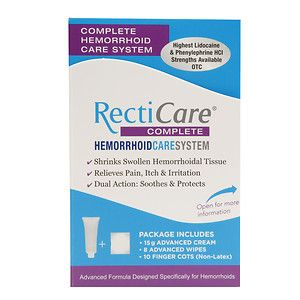 RectiCare Complete Hemorrhoid Care System, 1 ea