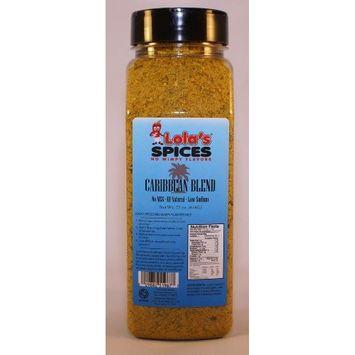 Lola's Spices No Wimpy Flavors Caribbean Blend Commercial/Restaurant Size