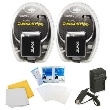 Special 2 Pack Battery Kit For The Canon Powershot SX50, G16, G1X, SX40