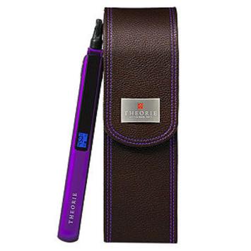 Theorie Saga Collection Flat Iron, Metallic Rubber, Purple, 1 inch, 1 ea