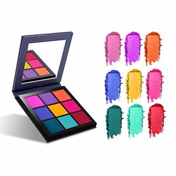 Pro Eyeshadow Palette Makeup,Nudes Eyeshadow Palette 9 Colors Cosmetic Powder Eyeshadow Palette Makeup Set Matt,Seasonal Eyeshadow Palette (01 SPRING)