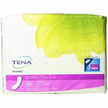 TENA Serenity Ultra Plus Heavy Absorbency Economy Pads 15'' (390 Count) 10 Bags of 39