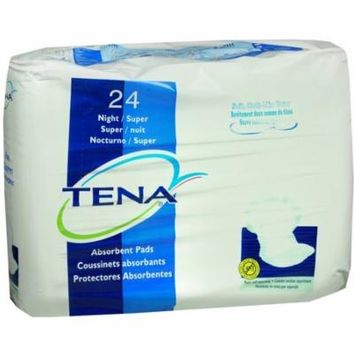 2 Pack - TENA Absorbent Pads Night/Super 24 Each