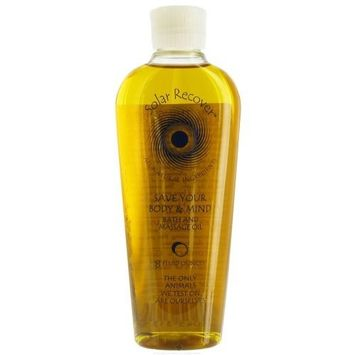 Solar Recover - Save Your Body & Mind Bath And Massage Oil - 8 oz. formerly Zausner