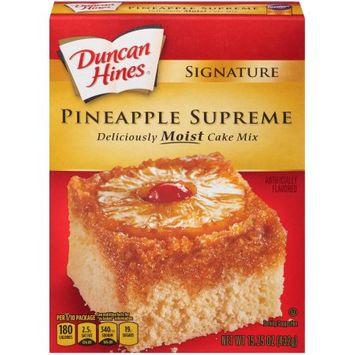Pinnacle Foods Duncan Hines SIGNATURE LAYER CAKE MIX Pineapple 15.25 Oz