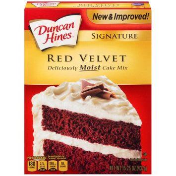 Pinnacle Foods Duncan Hines SIGNATURE LAYER CAKE MIX Red Velvet 15.25 Oz