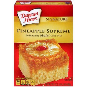 Pinnacle Foods Duncan Hines Signature Cake Mix, Pineapple Supreme, 16.5 Oz