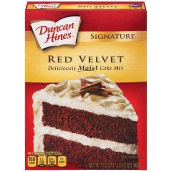 Pinnacle Foods Duncan Hines Signature Cake Mix, Red Velvet, 16.5 Oz