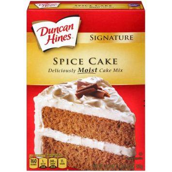 Pinnacle Foods Duncan Hines Signature Cake Mix, Spice Cake, 16.5 Oz