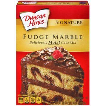 Pinnacle Foods Duncan Hines Signature Cake Mix, Fudge Marble, 16.5 Oz