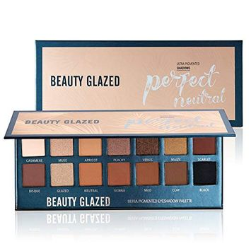BEAUTY GLAZED Perfect Neutral Eyeshadow Palette