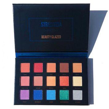 BEAUTY GLAZED STRELITZIA Textured Shadow Palette