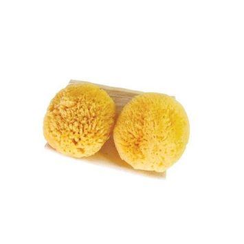 Classic Sea Pearls Reusable Sea Sponges - 2 Medium Size