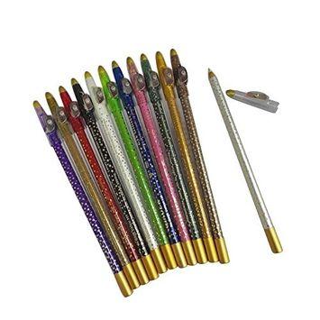 Fdrirect Eyeliner Eye& Lip pencels Oil Free Eye& Lip pencels Pen Waterproof Smudge proof
