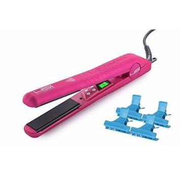 HSI Professional GliderPlus Pink Hair Straightener 1