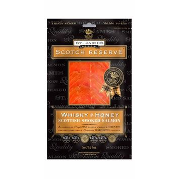 Scottish Reserve Smoked Salmon Infused with Whiskey & Honey 16 oz