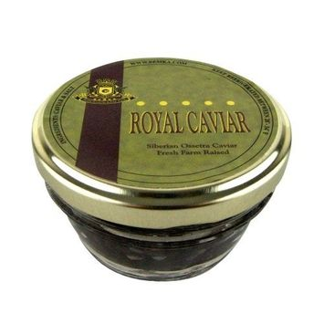 Bemka.com Siberian Ossetra Crown Farmed Caviar, 1-Ounce Jar