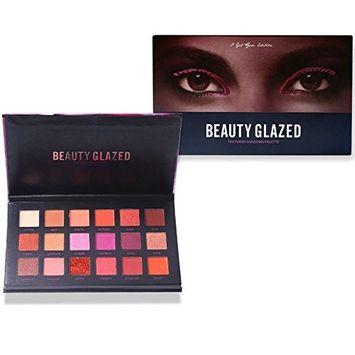 Beauty Glazed Eyeshadow Palettes 18 Colors Make Up Palettes Waterproof Eye Shadow Palette Cosmetics