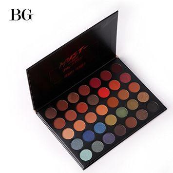Beauty Glazed Makeup Eyeshadow Palette 35 Colors Smoky Makeup Eye Shadow Pallete Matte Shimmer Glitter Pigment Pressed Eyeshadow set