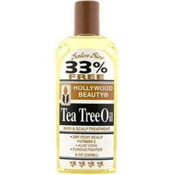 HOLLYWOOD BEAUTY Tea Tree Oil Skin & Scalp Treatment 8 oz []