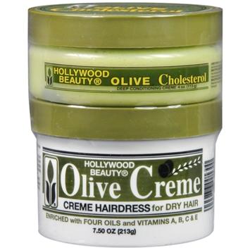 Hollywood Beauty Olive Cholesterol & Olive Creme