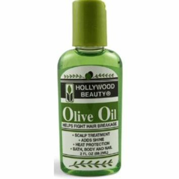 4 Pack - Hollywood Beauty Olive Oil Skin & Scalp Treatment, 2 oz