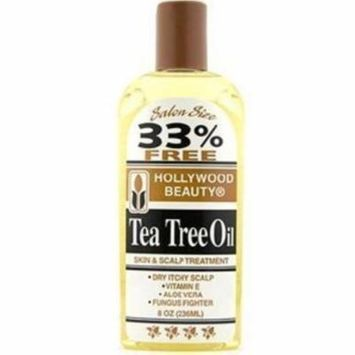 4 Pack - Hollywood Beauty Tea Tree Oil Skin & Scalp Treatment, 8 oz