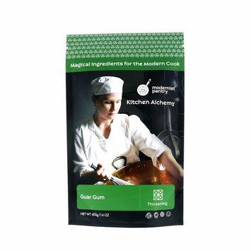 Pure Guar Gum (Molecular Gastronomy) ⊘ Non-GMO ☮ Vegan ✡ OU Kosher Certified - 400g/14oz