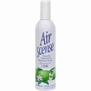 Air Scense Air Freshener - Lime - Pack of 4 - 7 Oz