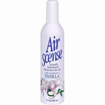 Air Scense Air Freshener - Vanilla - Pack of 4 - 7 Oz