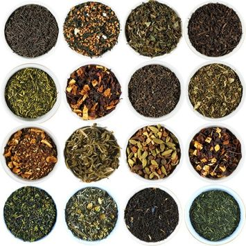 Cherry Blossom Green Tea Sampler. Choose From 68 Varieties Of Loose Leaf Tea. Gourmet Tea Sampler Makes 3-5 Servings. Beantown Tea & Spices Brand. (Cherry Blossom Green Tea)