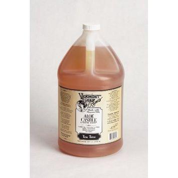 Vermont Soap Organics - Tea Tree Liquid Aloe Castile Soap Gallon