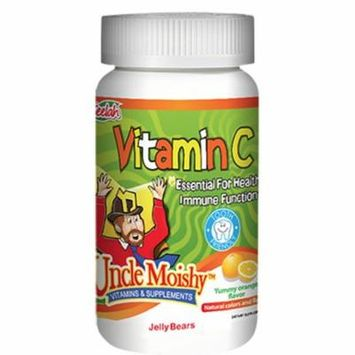 Uncle Moishy Kosher Vitamin C Chewable with Echinacea Orange Flavor - 120 Jellies