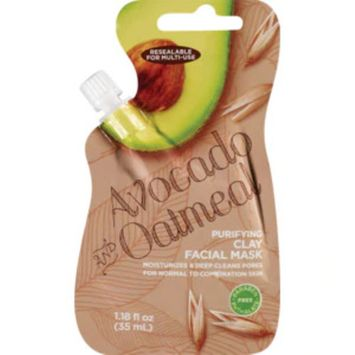 Avocado And Oatmeal Purifying Clay Facial Mask