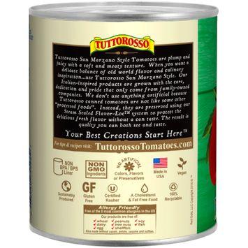 Tuttorosso® San Marzano Style Chopped Tomatoes in Puree