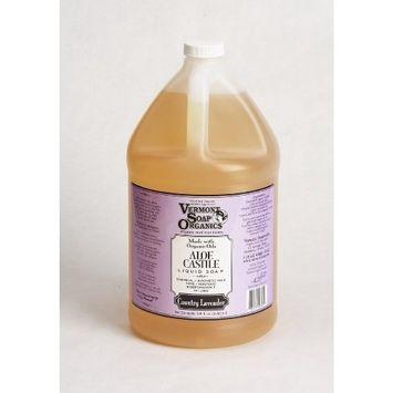 Vermont Soap Organics - Country Lavender Liquid Aloe Castile Soap Gallon