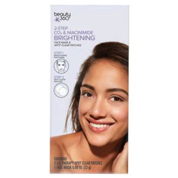 Beauty 360 2-Step CO2 Brightening Serum and Face Mask