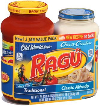 Ragu® Old World Style® Traditional & Cheese Creations Classic Alfredo Sauces Variety Pack