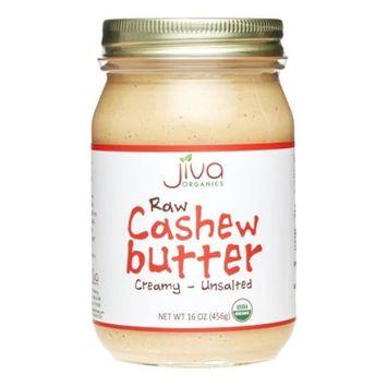 Jiva Organics Organic Raw Cashew Butter, 16 Oz