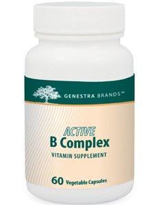 Genestra, Active B Complex 60 vcaps