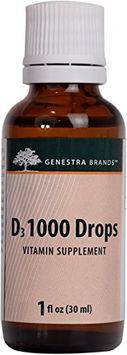 Genestra, D3 1000 Drops 1 oz