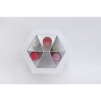 Bestrice 360 Degrees Rotating Cosmetics Storage Box DIY Multi Function Large Capacity Revolving Makeup Organizer Display Box