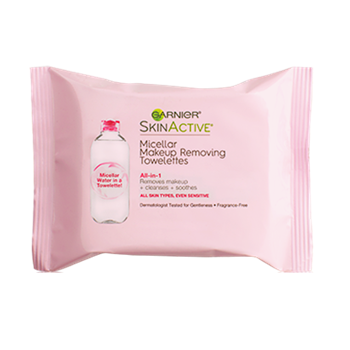 Garnier SkinActive All-in-1 Micellar Makeup Removing Towelettes