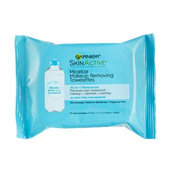 Garnier SkinActive Waterproof Micellar Makeup Removing Towelettes
