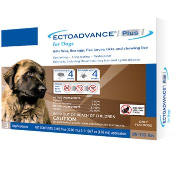 EctoAdvance® Plus For Dogs 89-132 lbs