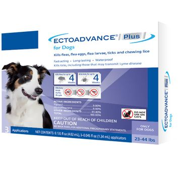 EctoAdvance® Plus For Dogs 23-44 lbs