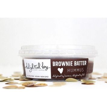 Delighted by Brownie Batter Hummus
