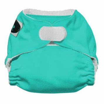 Imagine Baby Products Newborn All in One Stay Dry Diaper, H&L, Aquamarine